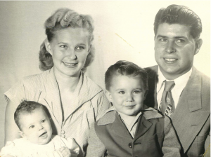 The Wear Family, 1952